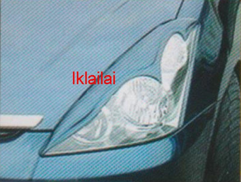 Toyota Wish '03 Head Lamp Pion Eye Lip Fiber [EYL-88]