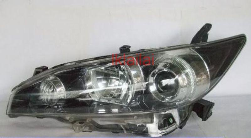 Toyota WISH '09-13 Projector Head Lamp Black/Chrome [HID Version]