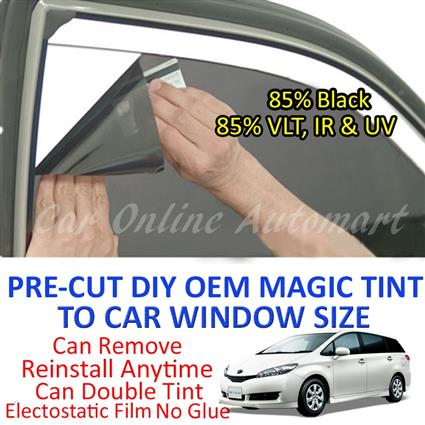 Toyota Wish 2003 - Present Magic Tinted Solar Window ( 6 Windows ) 85%