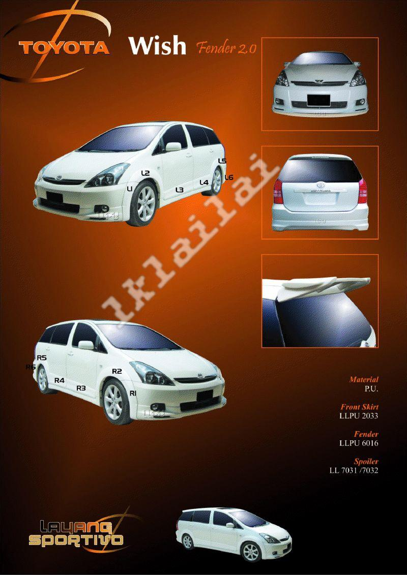 Toyota Wish Fender 2 0 Body Kits End 10 6 2017 12 11 Pm
