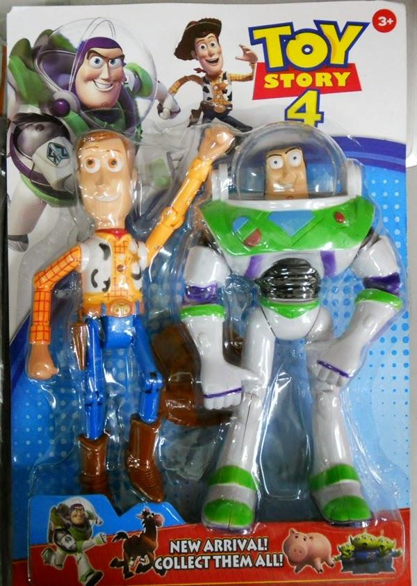 TOYS STORY - WOODY AND BUZZ LIGHT YEAR - (end 4/16/2017 8:15:00 AM)
