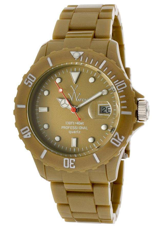 ToyWatch Only Time Fluo Olive Green