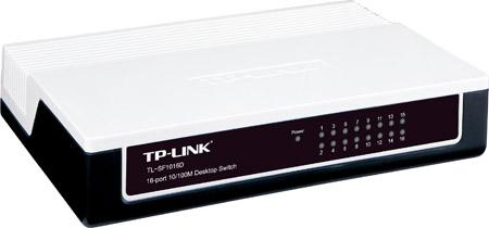 TP-Link 16 Ports 10/100Mbps Network Switch