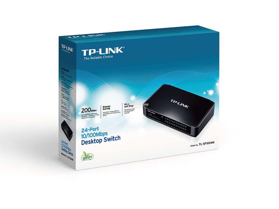 Tp Link 24-Port 10/100Mbps Desktop Switch TL-SF1024M