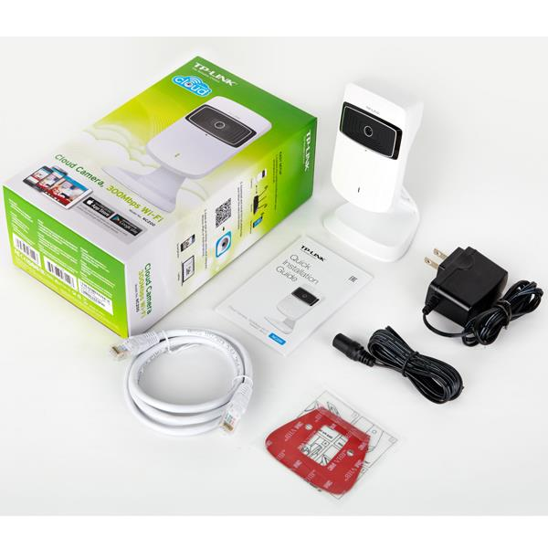 TP-LINK 300Mbps Cloud Wireless WiFi IP Camera NC200 (CCTV)