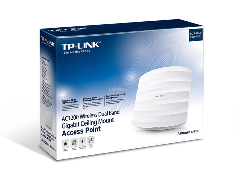 Tp Link AC1200 Wireless Dual Band Gigabit  EAP320