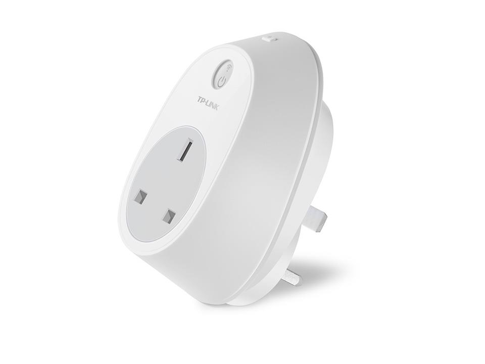 TP-LINK HS100 Smart Plug, Wi-Fi Enabled, Control Your Electronics