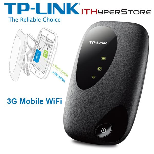 TP-LINK M5250 3G Portable Broadband Wifi Modem Router 21.6MBPS