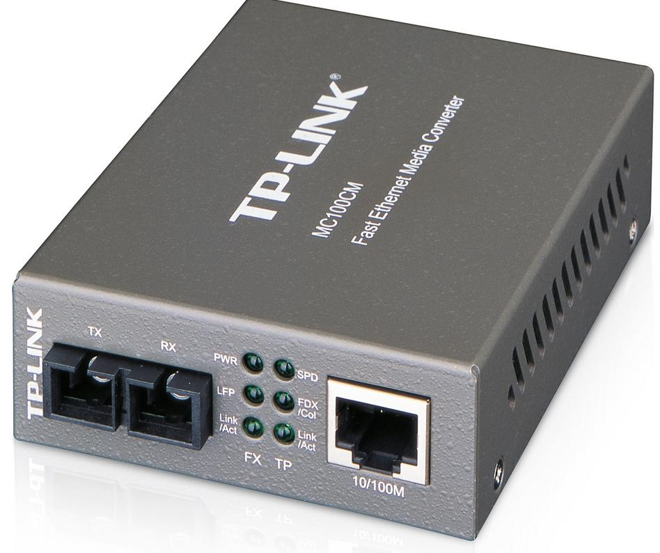 TP-LiNK MEDIA CONVERTER STANDARD SC FIBER MULTI MODE (MC100CM)