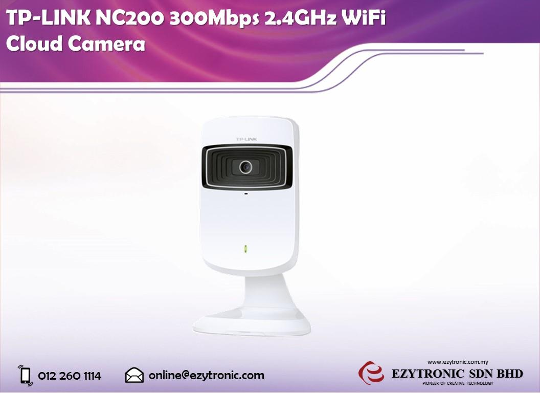 TP-LINK NC200 300Mbps 2.4GHz WiFi Cloud Camera