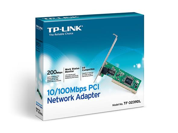 @ TP-LINK TF-3239DL10/100Mbps PCI Network Adapter (MAX 200mBPS) @