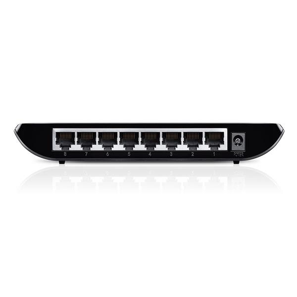 TP-LINK TL-SG1008D 8-Port Desktop Gigabit Switch, 8 10/100/1000M