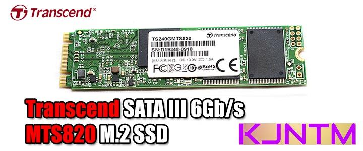 TRANDSCEND MTS820 M.2 SOLID STATE DRIVE SSD 120GB