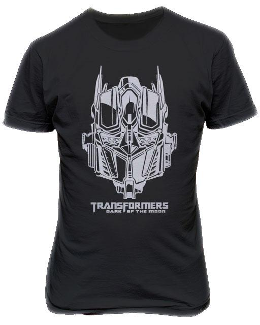 Transformers Optimus Prime T-shirt Silver
