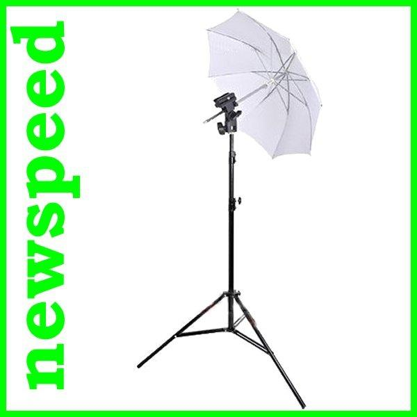 Transparent Translucent Studio Umbrella Strobist Set Umbrella Stand
