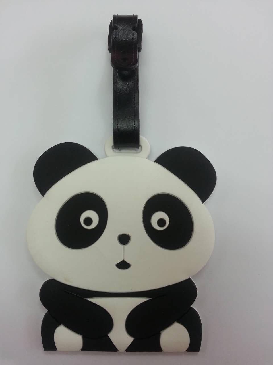 Travel Luggage Tag / Bag Tag - Panda