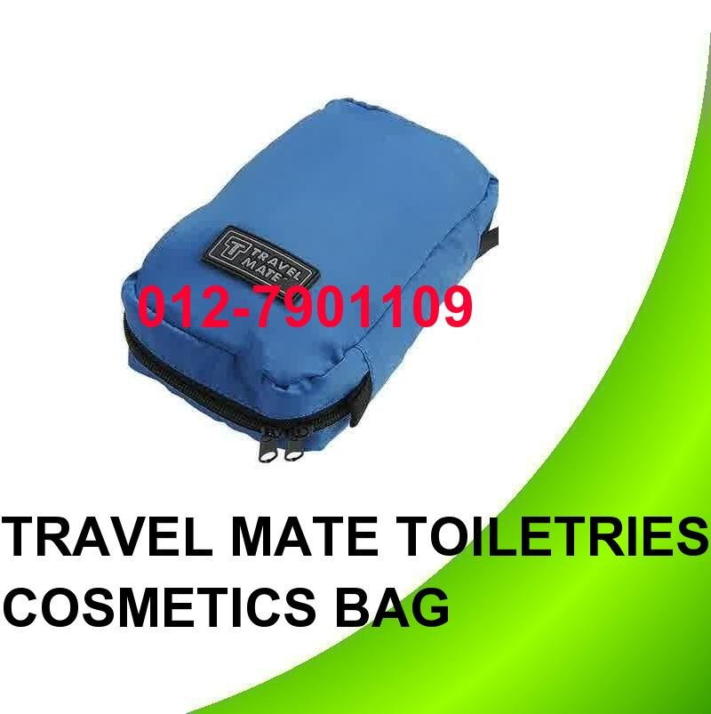 Travel Mate Cosmetic Bags Makeup Toiletries Purse Pouch Bag Organizer