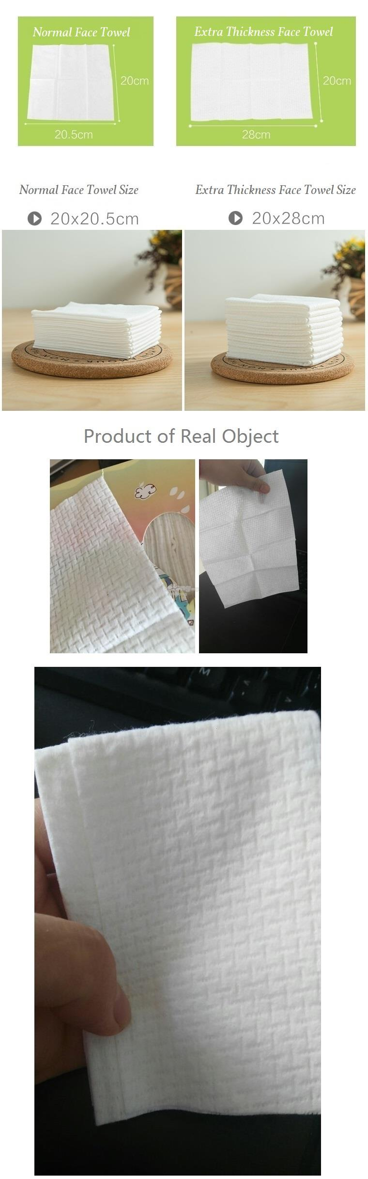 travel necessities outdoor disposable pure cotton face towel baby