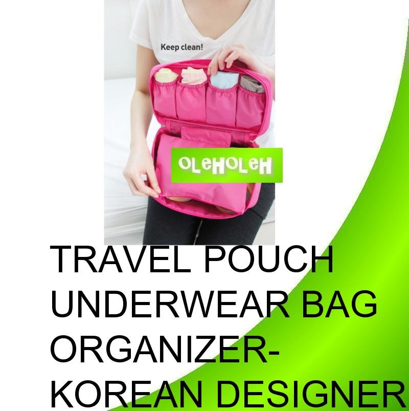 Travel Pouch Underwear Storage Bag Organizer- Korean Design