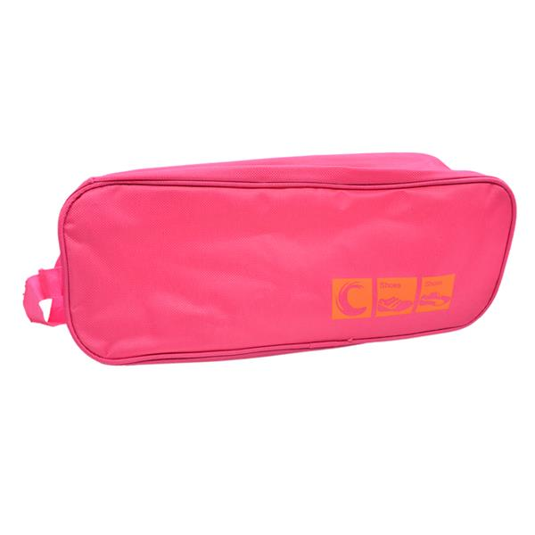 Travel Shoe Organizer Bag (Pink)