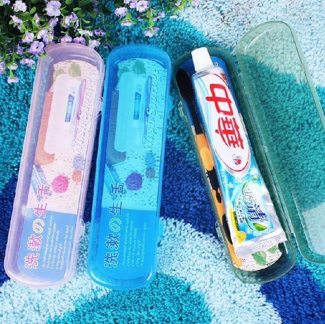 Travelling Portable Toothpaste/Toothbrush Case