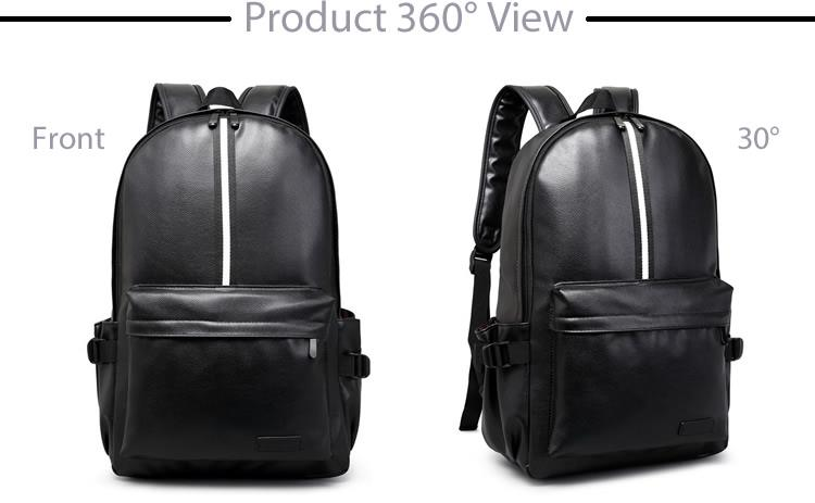 Trending PU Leather Backpack For Men B301