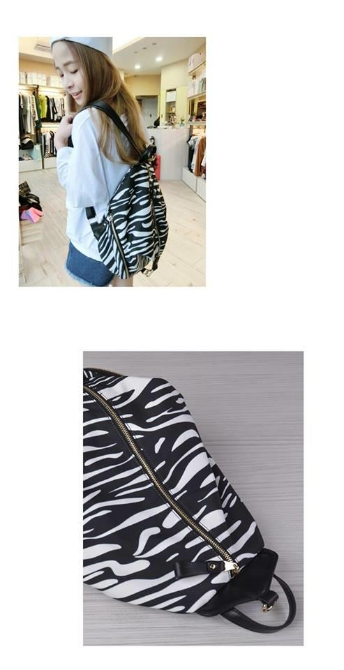 Trendy Backpack in Korean style