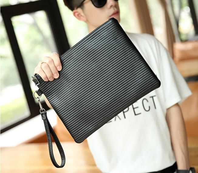 Trendy fashion new men clutch bag
