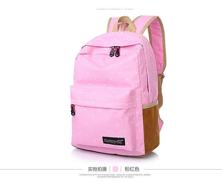 Trendy Korea Backpack -BDW3734PK