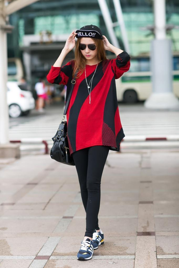 Trendy Top Red