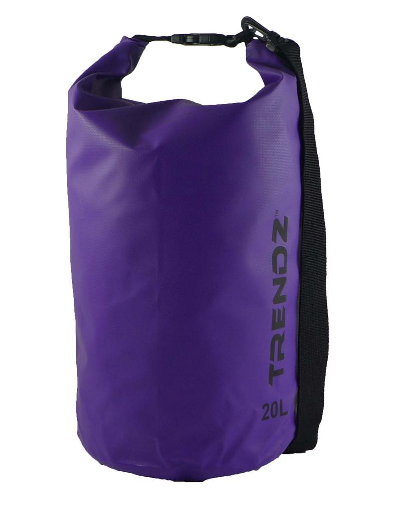 Trendz 20L Waterproof Dry Bag (Purple)