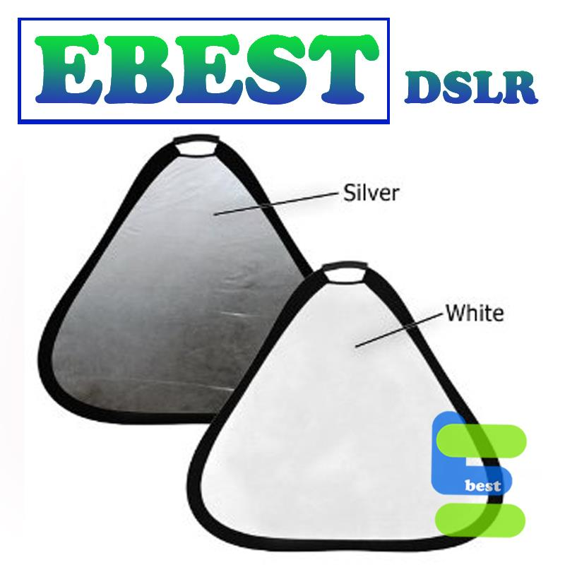 Triangular Collapsible Disc Reflector with Grip Triangle Reflector