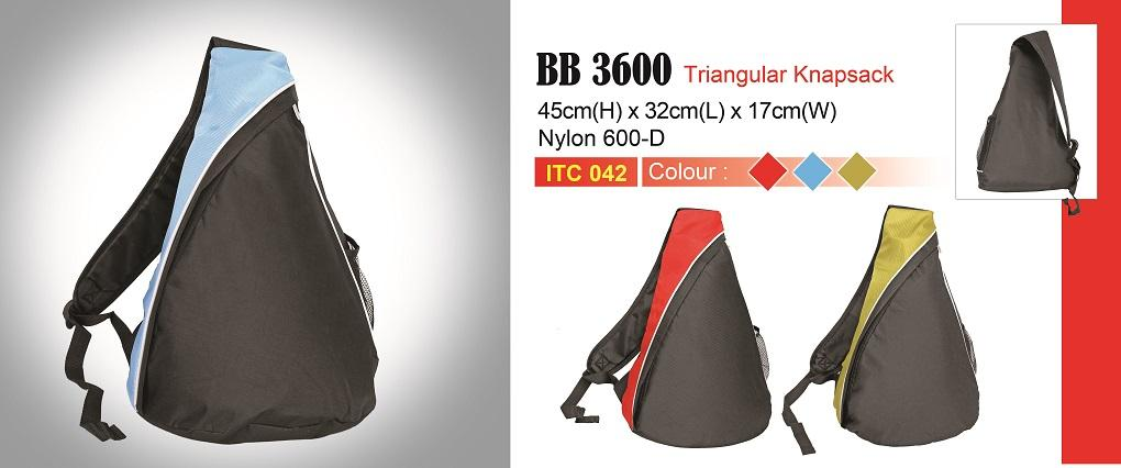 Triangular Knapsack (Bag) BB3600