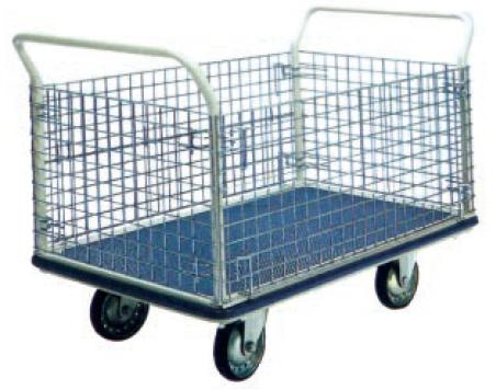 Trolley Hand Truck 1 Handle 1 Decker 500 Kgs Metal Netting
