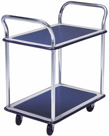Trolley Hand Truck 2 Handle 2 Decker 300 Kgs Metal