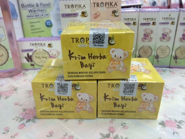 Tropika Baby Herbal Cream 3 Pcs 100% Genuine Ready Stock