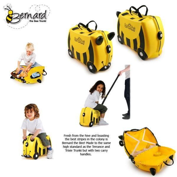 Trunki Bernard Bee 100% Authentic