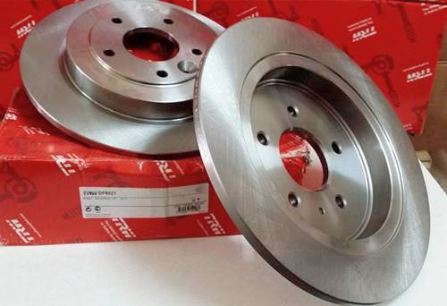 TRW Disc Rotor For Toyota Altis ZZE122 (Rear)