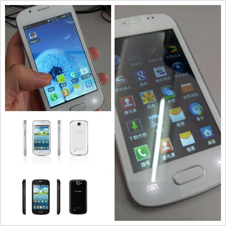 TSM MALAYSIA T9 TOUCH 4.0� ANDROID PHONE 2 SIM LIKE GALAXY S3 DESIGN