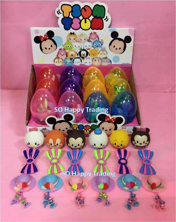 Tsum Tsum Deformation Eggs  end 3/16/2018 11:15 PM  MYT