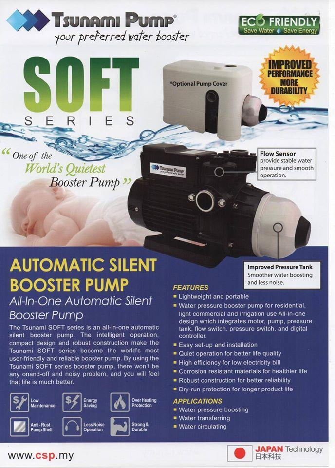 Tsunami Soft-3 Fully Auto Home Silent Booster Pump