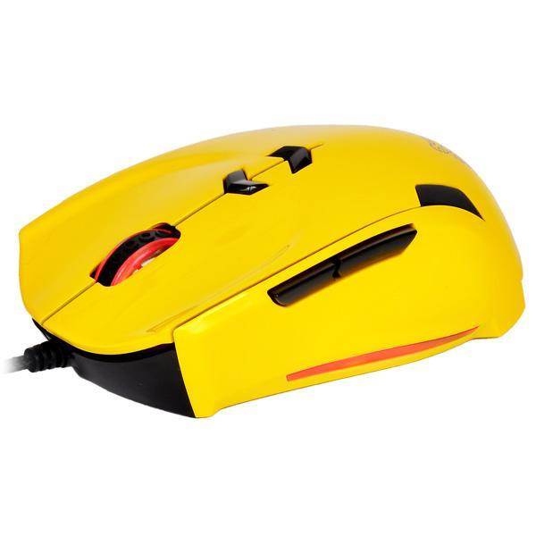 TT ESPORTS WIRED LASER USB THERON (MO-TRN006DTN) MOUSE YELLOW