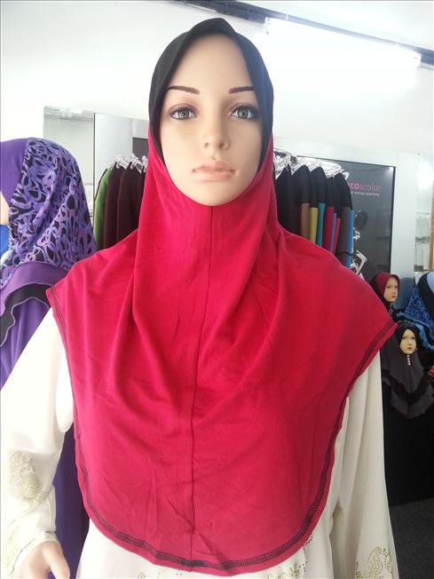 Tudung Cotton awning lembut imported