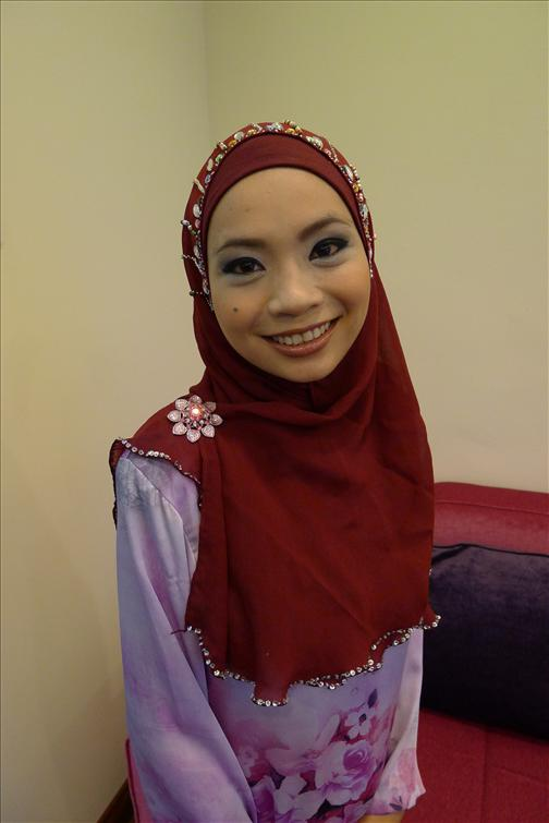 Tudung Fashion Trend Halfmoon Chiffon Exclusive
