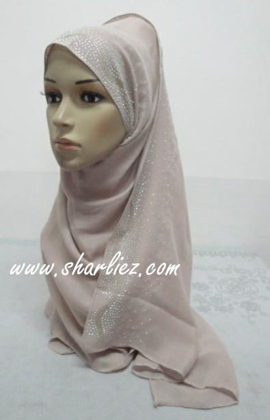 Tudung & Shawl big sized diamond beads 2