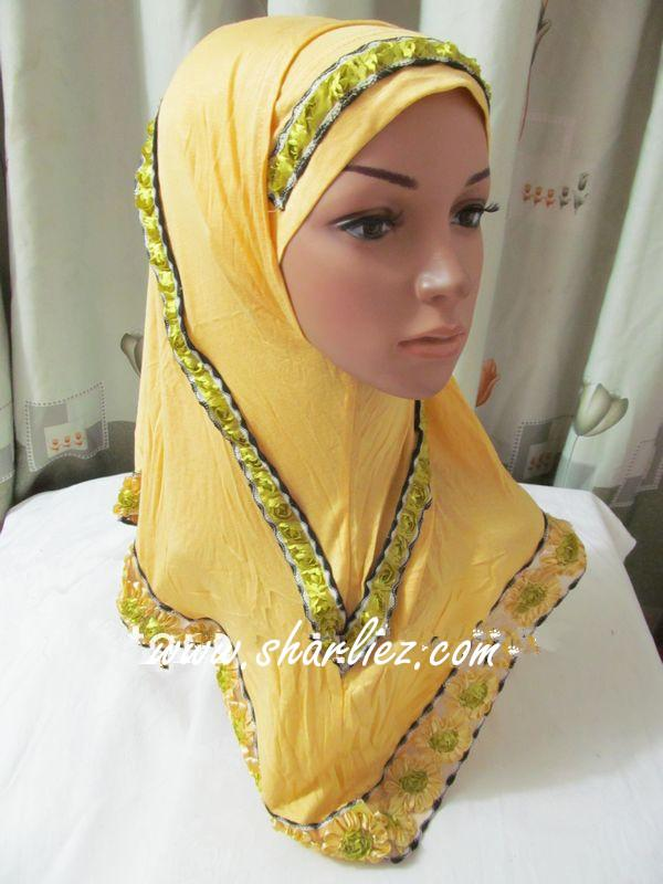 Tudung & Shawl layer flower 3