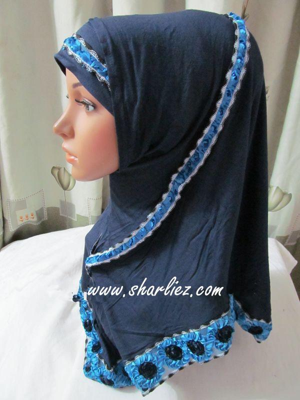 Tudung & Shawl layer flower