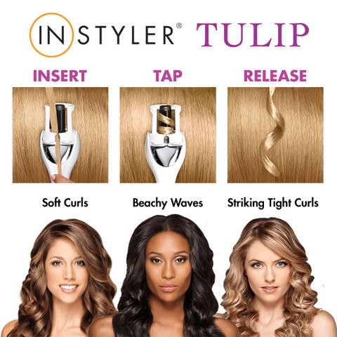New Tulip Instyler Auto Curler**Just 3 Seconds