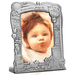 Tumasek Pewter 4R Photo Frame Wonderland - 2866