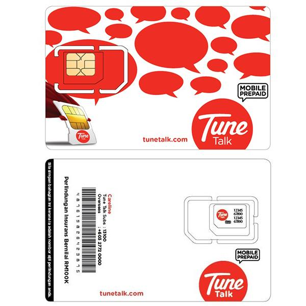 Tune Talk Starter Pack+RM85 preloaded credit+FREE 1.5GB data and 50min
